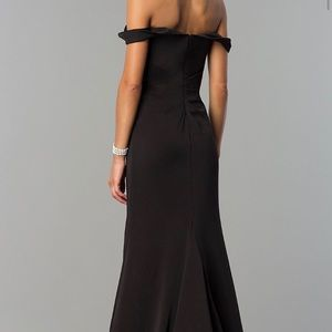 PromGirl Dresses - Beautiful off the shoulder formal gown